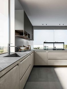 Actio - Bucătărie cu peninsulă Kitchen Cabinets, Home Decor, Decoration Home, Room Decor, Cabinets, Home Interior Design, Dressers, Home Decoration, Kitchen Cupboards