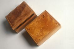 TWO BOXES  by Peter Gorring, 1991 | Design Tasmania | I am lucky enough to own one of Peter's boxes