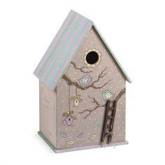Κουτί βάπτισης με θέμα πουλάκια σε χαρούμενα παστέλ χρώματα! Bird, Outdoor Decor, House, Home Decor, Decoration Home, Home, Room Decor, Birds, Home Interior Design