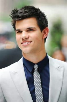 "Taylor Lautner. Everyone started liking him only when he became famous from playing ""Jacob"", I loved him since he was Sharkboy."