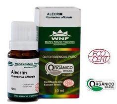 WNF Óleo Essencial de Alecrim Orgânico. Orgânico e certificado pela Ecocert. Tem ação revigorante e estimulante. Atua nos sistemas circulatório e vascular estimulando a oxigenação do organismo, além de fortalecer a musculatura e a pele.