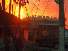 Akte Astrosuppe - glasklar!: 16 TOTE bei ♦ EXPLOSION ♦ einer Gaspipeline in Nagaram/Indien (spon)