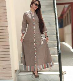Modest Fashion Hijab, Frock Fashion, Abaya Fashion, Fashion Dresses, Simple Kurti Designs, Kurta Designs Women, Pakistani Dress Design, Pakistani Dresses, Indian Designer Outfits