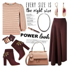 """Your Signature Power Look"" by littlehjewelry ❤ liked on Polyvore featuring Ports 1961, Valentino, Aquazzura, Victoria Beckham, Charlotte Tilbury, contestentry, pearljewelry, powerlook and littlehjewelry"