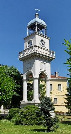 Ioannina Clock Tower, Epirus, Greece