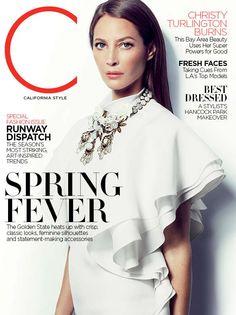 C Magazine with Christy Turlington
