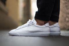 All-white Nike Tennis Classic.
