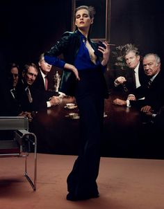 Gianluca Fontana Captures Seductive Business Style for Io Donna