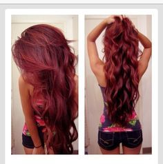 hair colour red snooki - Google Search