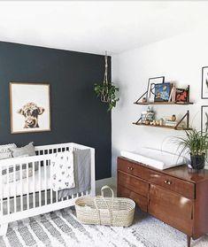 Nursery / kids rooms cool kids rooms, nursery design и cribs. Baby Boy Rooms, Baby Bedroom, Baby Room Decor, Baby Boy Nurseries, Nursery Room, Nursery Decor, Navy Nursery, Accent Wall Nursery, Accent Walls
