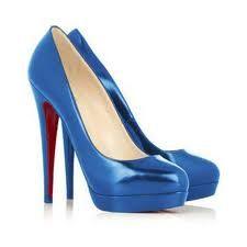 I love blue shoes :)