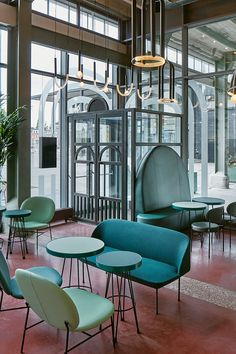 The Commons by Studio Modijefsky | The Student Hotel, Maastricht, The Netherlands