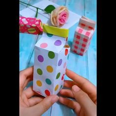 TOP 5 Origami Easy Paper Flower You are in the right place about easy craft for friends Here we offe Diy Crafts Hacks, Diy Crafts For Gifts, Diy Arts And Crafts, Creative Crafts, Crafts To Make, Crafts For Kids, Paper Crafts Origami, Easy Paper Crafts, Origami Easy