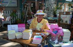 Mary Kay Andrews' Books. I love her books!!! They always cheer me up.