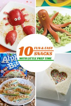 Tutus and Tea Parties: 10 Fun & Easy Snacks for Kids