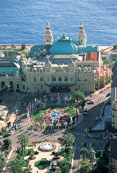 Monte Carlo, Monaco.  saw the locals getting ready for the upcoming Grand Prix and drove the route!