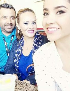 Becky G With Mama & Papa G