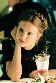 She gives them butterflies, bats her cartoon eyes. Lolita (1997)