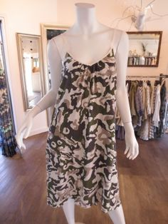 Chloe Camo Dress by Sam and Lavi | SaVvy | Retail Therapy