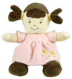 Dandelion Organic Cotton Toddler Doll Brunette at Buxton Baby $34.99