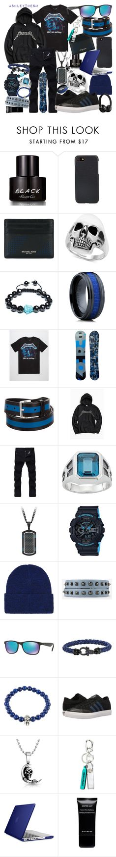 """⚡ Ride the Lightning ⚡ {men's}"" by ashleythesm ❤ liked on Polyvore featuring Kenneth Cole, Shinola, Michael Kors, Effy Jewelry, Bling Jewelry, Oliveti, Burton, Dsquared2, Urban Outfitters and G-Shock"