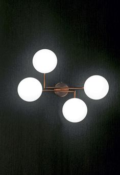 Mamì 4 lights wall, Penta Wall Lights, Ceiling Lights, Light Table, Glow, Flooring, Lighting, Interior, Design, Home Decor