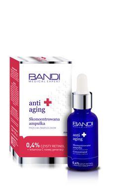 Skoncentrowana ampułka przeciw zmarszczkom z retinolem