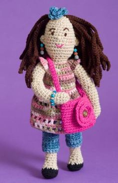 A huge collection of over fifty free amigurumi crochet patterns. Browse through the images to find the perfect amigurumi pattern! Crochet Dolls Free Patterns, Crochet Doll Pattern, Doll Patterns, Knitting Patterns, Amigurumi Patterns, Crochet Gratis, Crochet Yarn, Crochet Toys, Free Crochet