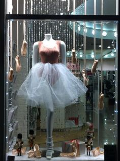 Capezio London - Nutcracker Christmas window