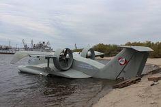 Экраноплан «буревестник-24» проходит опытную эксплуатацию в Якутии