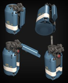 ArtStation - Star Citizen FPS EMP Grenade, Ze'ev Harris