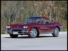 S126 1962 Chevrolet Corvette Convertible 327/360 HP, 4-Speed - beautiful - https://swisshalley.com/de/ref/future56