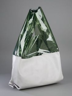 Women's Bags : Picture Description Jil Sander, Half sheer bag 3 - My Bags, Purses And Bags, Travel Accessories, Fashion Accessories, Sacs Design, Clear Bags, Tote Bag, Jil Sander, Fashion Bags
