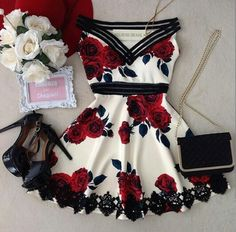 Swans Style is the top online fashion store for women. Shop sexy club dresses, jeans, shoes, bodysuits, skirts and more. Cute Casual Outfits, Pretty Outfits, Pretty Dresses, Stylish Outfits, Beautiful Dresses, Casual Dresses, Short Dresses, Kohls Dresses, Dresses Dresses