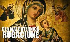 rugaciunea mamei pt copil Madonna And Child, Christian Art, Pray, Mona Lisa, Spirituality, Health Fitness, Hair Beauty, God, Artwork