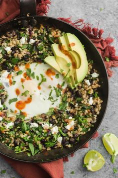 A year-round rice skillet that pairs black beans with hearty greens, fried eggs, and a bit of smokiness from chipotle powder. An easy week-night dinner.