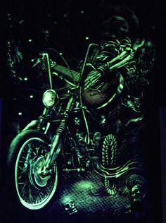 Graveyard Rocker Glow In The Dark Radium Neon Uv High