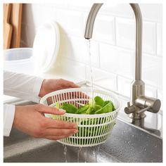Centrífuga Secadora de Folhas Salada Legume Manual Manivela - Utifácil