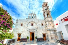 The Assumption of Panagia is the epicenter of festivities for the entire summer and it is held at the #church of Panagia Tourliani on August 15th!