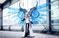 Aion cosplay Sorcerer wings Hyperion (https://www.facebook.com/VicNyophelieEtNanouCosplay)  Photo by  : https://www.facebook.com/namidael.photographies