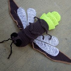 Ravelry: Buggables: Lightning Bug motif par Jenna Wingate