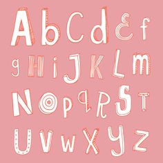 Alphabet by sian elin