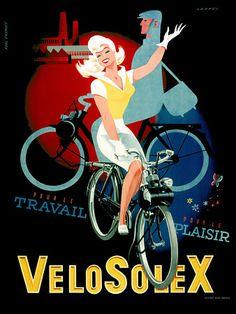 Velosolex Mopeds 1950s