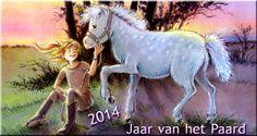 2014 - Jaar van het Paard!  *** Illustratie: Magda van Tilburg