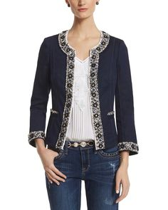 Beaded Trophy Jacket