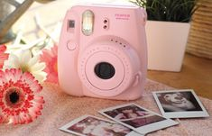 A pretty Fujifilm Instax instant camera to capture your most important life moments. | 20 Awesome Products From Amazon To Put On Your Wish List