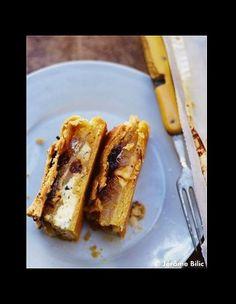 Tourte de fromages poires et oignons - 50 recettes d'automne
