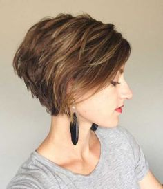 easy hairstyles for short hair Styled up