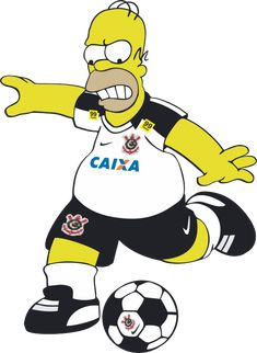 Ai galera Homer ao estilo vai Corinthians! Homer Simpson, Simpsons Characters, Disney Characters, Fictional Characters, Corinthians Time, Hibernian Fc, Football Wallpaper, Sports Clubs, The Simpsons