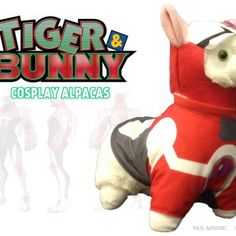 Tiger & Bunny Llama Plush Llama Plush, Tiger And Bunny, Fluffy Coat, Candy Colors, Cute, Anime, Kawaii, Cartoon Movies, Anime Music